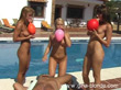 Ballon Blowjob 3 girls